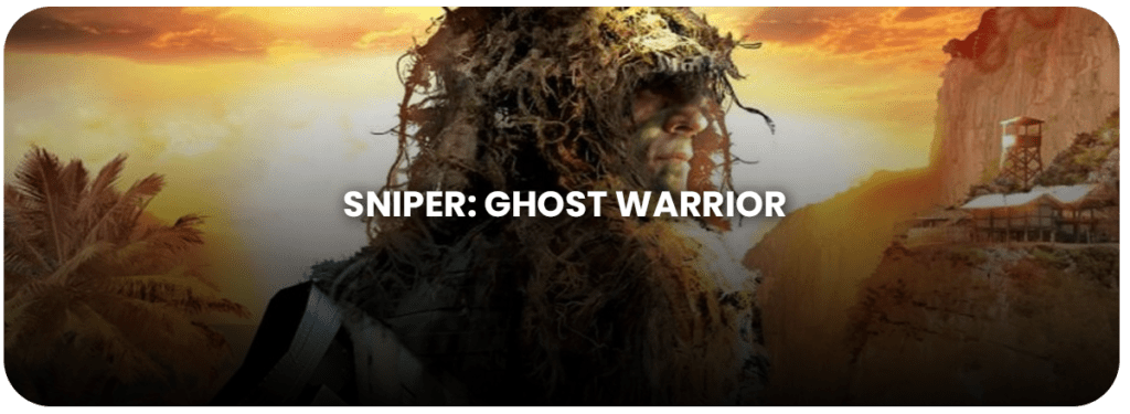 sniper ghost warrior gry fps